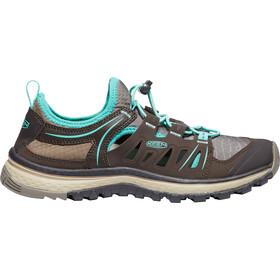 Keen Terradora Ethos Shoes Women Mulch/Blue Turquoise